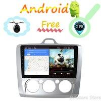 2 din Android 8,1 9 радио автомобиль Ford Focus 2din 2004 2005 2006 2007 2008 2009 2010 2012 2Din GPS; Мультимедийный проигрыватель