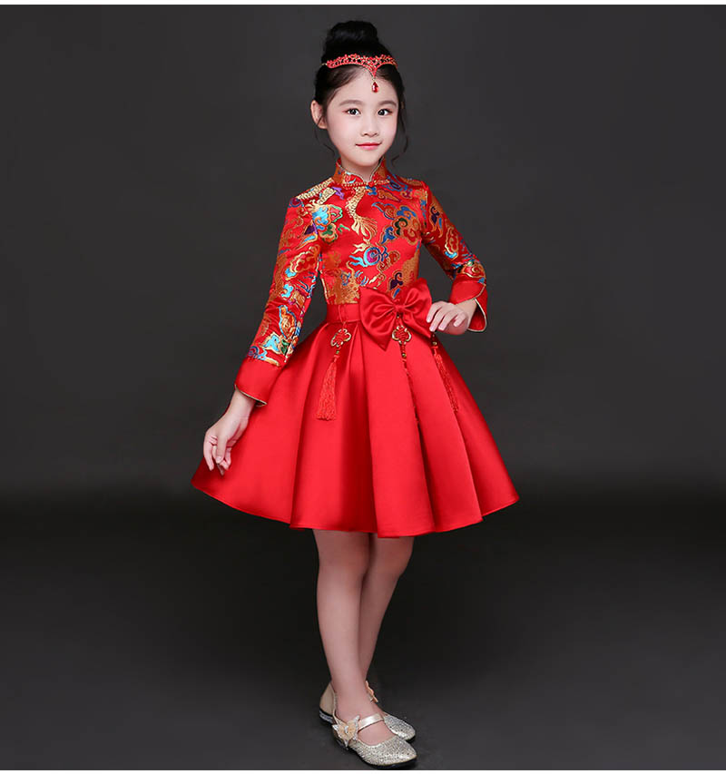 28ad99b12e2 2019 Kid China Dress Of The Tang Dynasty Chinese Traditional ...