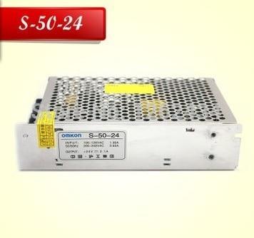 S-50-24 switching power supply 220V to 24V2A 50W 24V switching power transformer