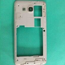 c18ad519198 10 unids/lote G530 Placa de Marco medio bisel medio del marco de la  cubierta para Samsung Galaxy Grand Prime G531 COLOR plata