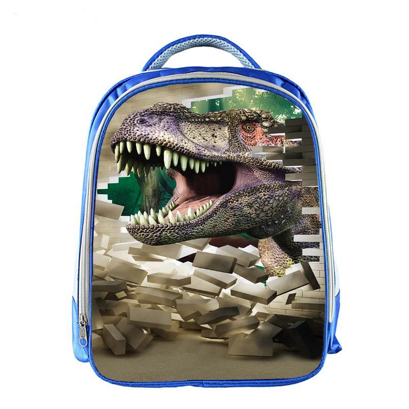 children shoulder bag small 3d animal school bags for boys jurassic park dinosaur schoolbag kindergarten kids mochila infantil