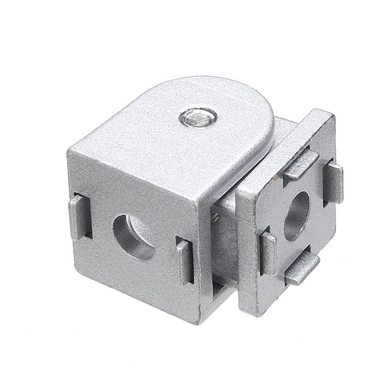 1pc Movable Hinge Industrial Aluminum Extrusions Fittings Arbitrary Angle Connector For 2020 Aluminum Profiles