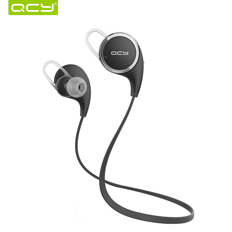 buy qcy qy8 bluetooth headset wireless sport bluetooth earphone with mic noise cancelling. Black Bedroom Furniture Sets. Home Design Ideas