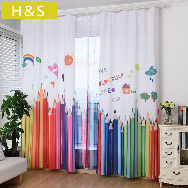 Aliexpress.com : Buy New American Children's Rooms Cotton Curtains ...