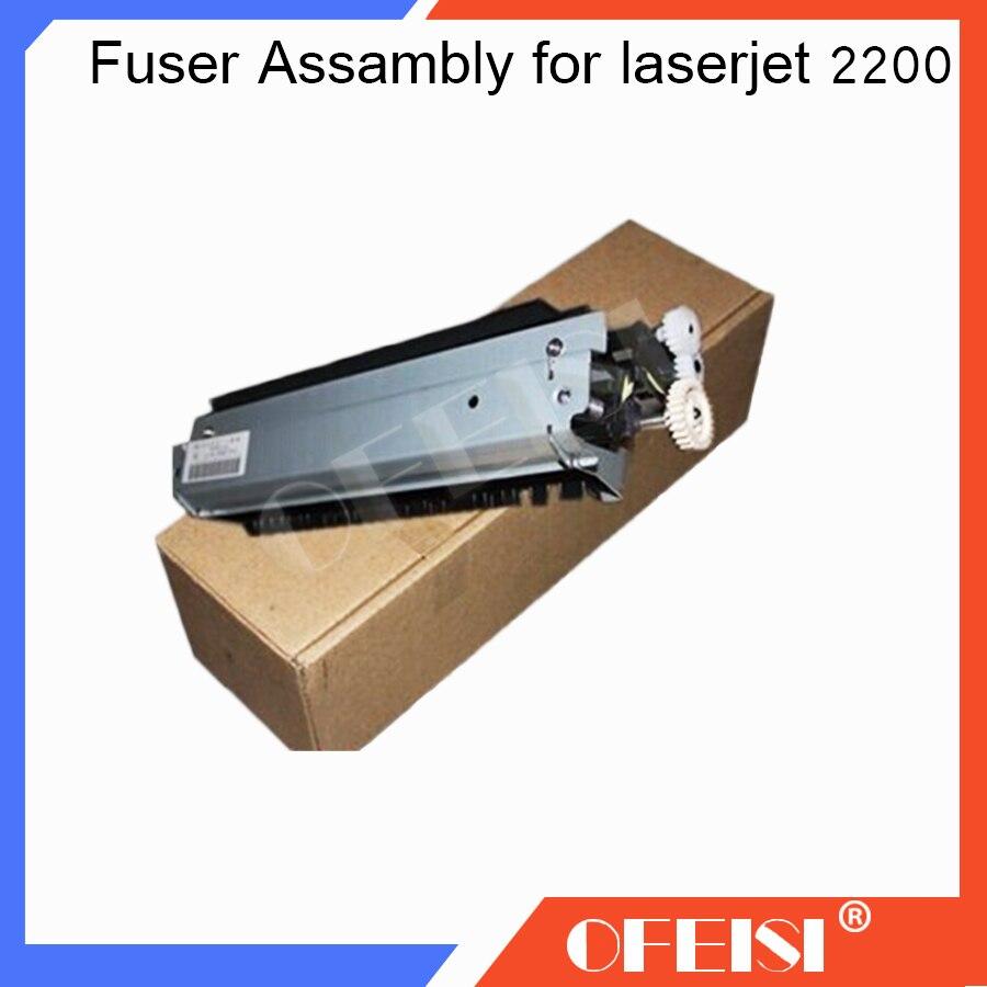 New original RG5-5568 RG5-5568-000 (110V) RG5-5569 RG5-5569-000(220V) Fuser Assambly for HP laserjet 2200 HP2200 printer parts rg5 6799 000cn used dc controller pc board for the hp color laserjet 5500 printer parts