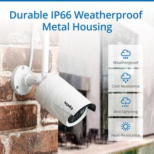 Image 3 - SANNCE 8CH Wireless CCTV System 1080P 2.0MP NVR IP IR CUT Outdoor CCTV Camera IP Security System Video Surveillance Kit