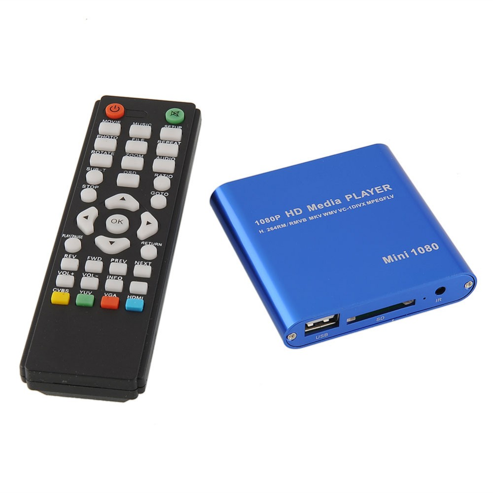 JEDX MP021 Mini Full Hd 1080p Usb External Hdd Player With SD MMC Card Reader Host Support Mkv AVI Hdmi Hdd Media Player new arrival jedx mp026 multimedia mini hdmi 1080p full hd media player mkv rm sd usb sdhc mmc with 2ports hdmi vga av auto play