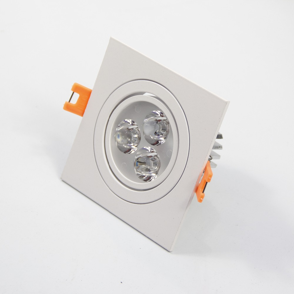 3W 6W Richtbare Dimbare LED Inbouw Spot Λευκό / Ζεστό Λευκό LED Κάτω φωτισμός Καθαρό Λευκό