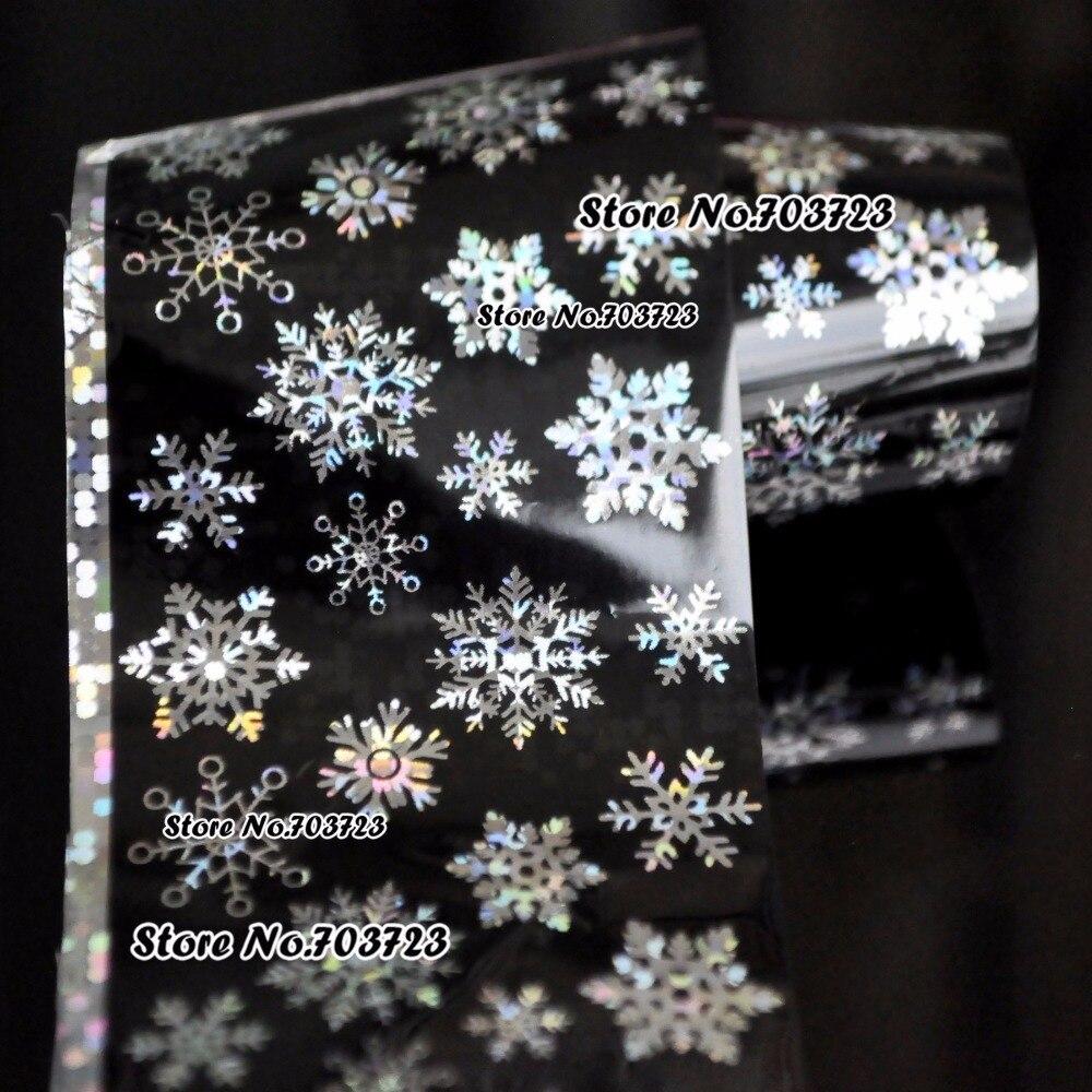 100% QualitäT Harajuku Mode Sexy New Star Helle Nagel Aufkleber Können übertragen Werden Schöne Schneeflocke Sy615 Elegant Im Stil