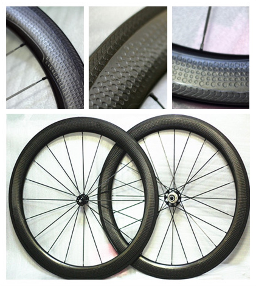 Special Brake Surface Dimple carbon Wheels 58mm Clincher Road Bike Carbon Wheel 700C newest 454 58mm dimple wheelset 700c 58mm road bike carbon wheels clincher rims high temperature 250 degrees brake surfac