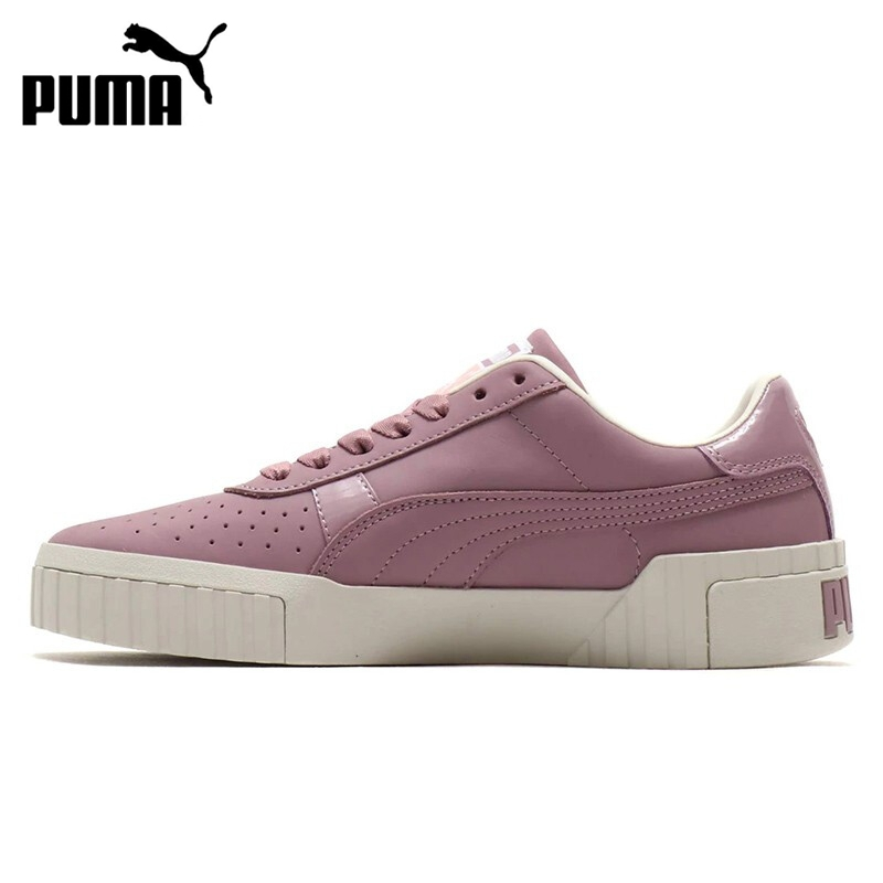 Original New Arrival 2019 PUMA Cali Nubuck  Women's  Skateboarding Shoes Sneakers