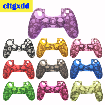 cltgxdd Anti-slip Silicone Cover Skin Case For Sony PlayStation Dualshock 4 PS4 DS4 Pro Slim Controller Stick Grip Case cool camouflage soft silicone cover case protection skin for sony playstation 4 ps4 for dualshock 4 controller console decals