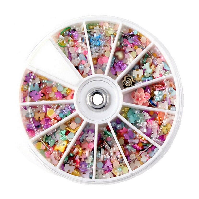 1200Pcs/Box Phone Beauty Nail Art Tools Japanese Manicures DIY Nail ...