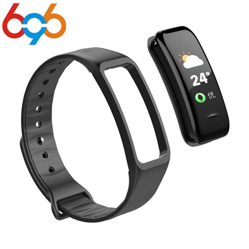 696 Smart band C1S Smart bracelet blood pressure Heart rate pedometer Smart Wrsitband Fitness bracelet Watch PK xiao mi band 2