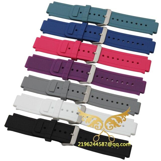 Lujo 24*15mm correas de Reloj Correa de Reemplazo Para Garmin vivotive Wrist Band Con Herramientas de Envío gratis