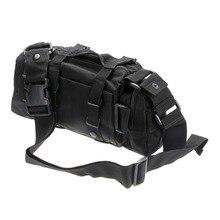 黒オックスフォード多機能アウトドアスポーツバッグ登山ショルダーバッグ狩猟バックパックバッグ