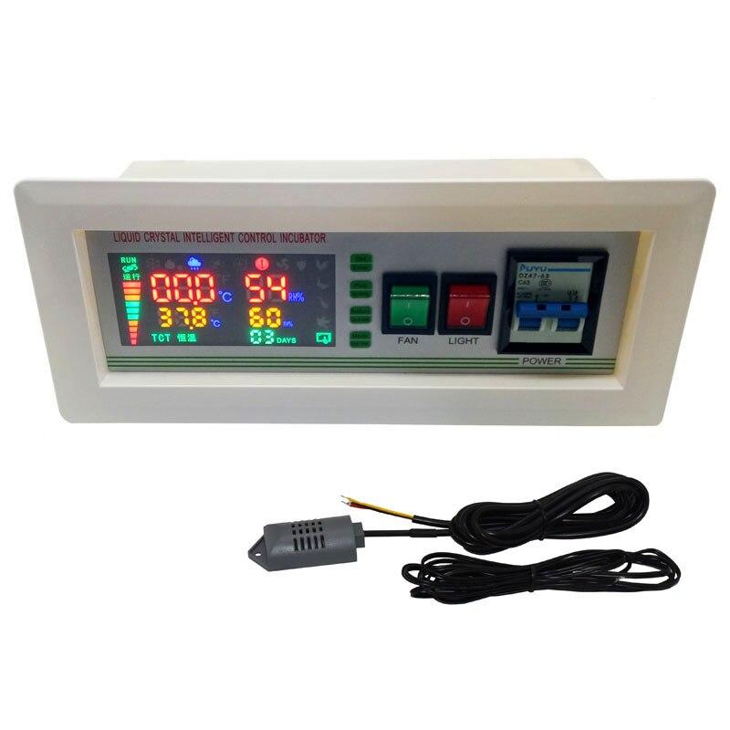 Inkubator xm-18SD inkubator regulator termostat w pełni automatyczny i wielofunkcyjny inkubator jaj System sterowania 1 zestaw