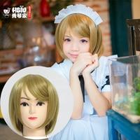 HSIU LoveLive Love Live Cosplay Wig Hanayo Koizumi Costume Play Adult Wigs Halloween Anime Hair Free
