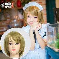 HSIU LoveLive Love Live Cosplay Wig Hanayo Koizumi Costume Play Adult Wigs Halloween Anime Hair Free
