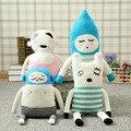 Lucky Boy Sunday Фаршированные Шерсть Куклы Ручной Вязки KidsToy Дания Игрушки Куклы и Мягкие Игрушки Куклы Подарок На День Рождения