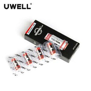 Image 5 - Uwell 4ピース/パック旋回2タンク/旋回タンクアトマイザーの交換コイルヘッド0。6ohm/1.8ohm t電子タバコアトマイザーコア