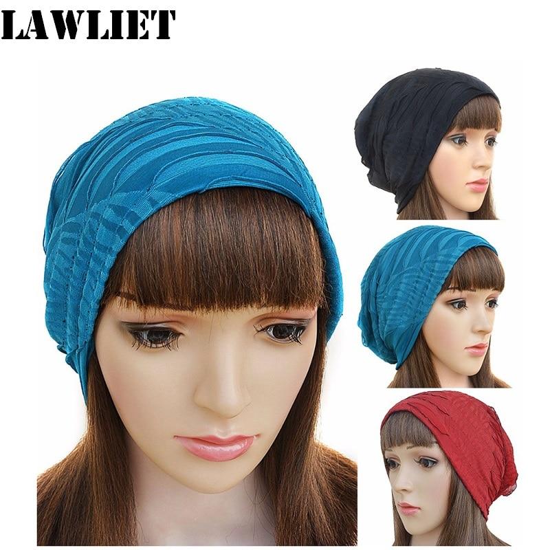 Women Beanie Hats Fashion Skullies Cap Slouch Skuilles Bonnet Hip-hop Cap Gorro Hats for Women A245 leather skullies cap hats 5pcs lot 2278