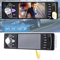 Car radio music player supports MP5 / MP4 / MP3 / FM transmitter car video remote