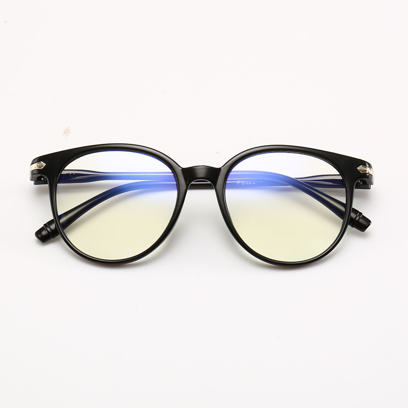 Ratoop Women Spectacle Optical Frame Glasses Clear Lens Lady Vintage Computer Anti-Radiation Eyeglasses