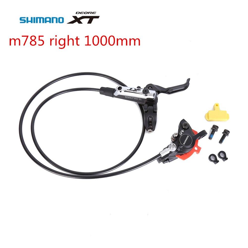 Лучшая цена! Shimano XT M785 BL-BR-M785 велосипед mtb гидравлические дисковые тормоза право управления спереди 1000 мм Бесплатная доставка