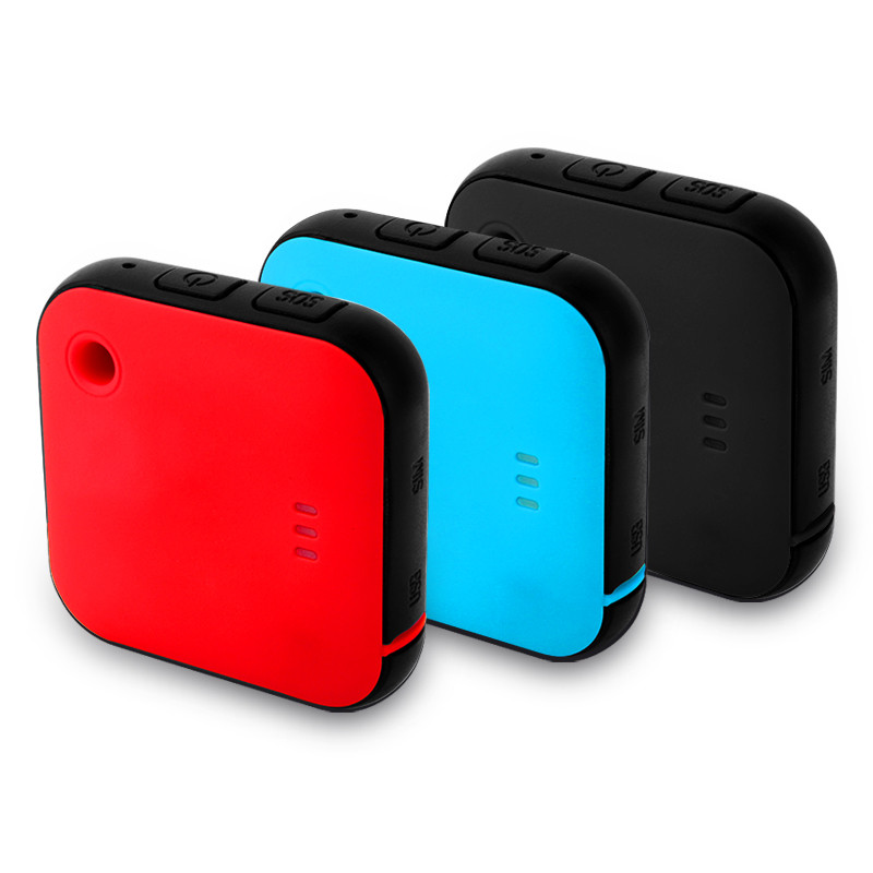Smart Home Mini GPS Tracker Waterproof Anti Lost SOS Call Two Way Audio Real Time Locator for Pet Portable Tracking Platform