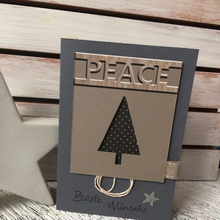 Letters Metal Die Cuts Cutting Dies peace pattern For DIY Scrapbooking Embossing Photo Album Paper party festival manual Cards