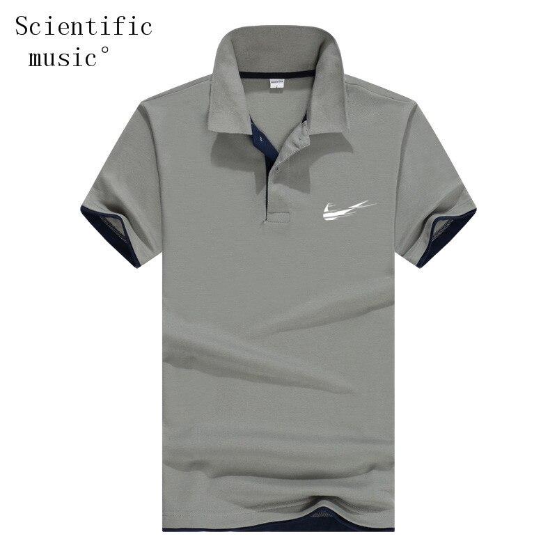 2019 Mens   Polo   Shirts Men Desiger   Polos   Men 65% Cotton Short Sleeve Shirt Clothes Jerseys Golf Tennis   Polos   Big Size 3XL Solid