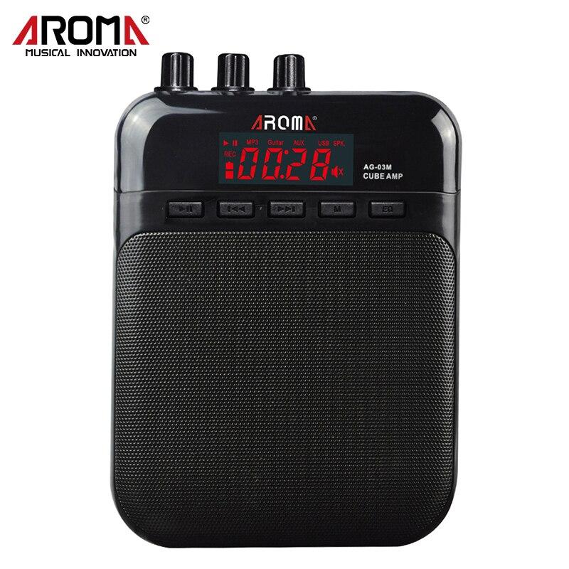 Amplificador de guitarra AG-03M 5W Ideal para practicar con ranura - Instrumentos musicales