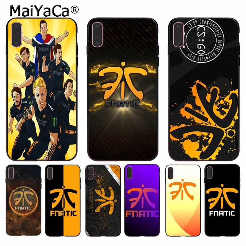 Lovely Maiyaca Team Fnatic Lovely Novelty Fundas Phone Case Cover For Apple Iphone 8 7 6 6s Plus X Xs Max 5 5s Se Xr Cover Big Clearance Sale Phone Bags & Cases