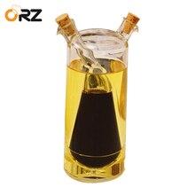 ORZ Creative Oil and Vinegar Cruet Soy Sauce Dispenser Bottle Spice Jar Seasoning Boxes Kitchen Cooking