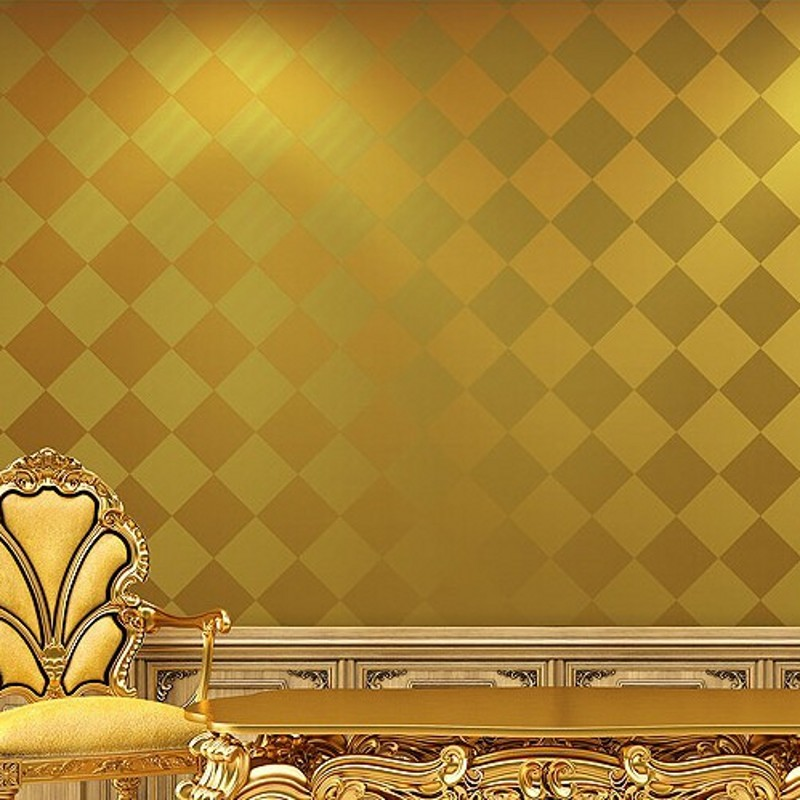 beibehang papel de parede 3d wallpaper rolls golden Diamond lattice wallpaper roll wall paper home decor for living room papel de parede 3d wallpaper rolls golden wallpaper for walls imitation diamond imitation marble tiles golden wedding coverings