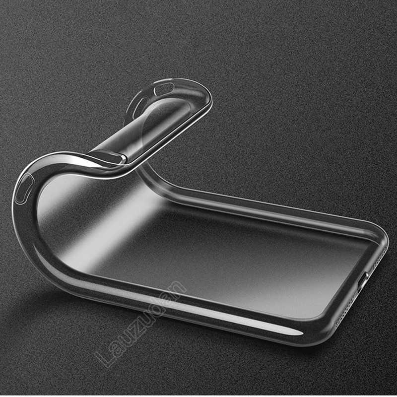 Klar Telefon Fall Für iPhone 7 Fall iPhone XR Fall Silikon Weiche Rückseitige Abdeckung Für iPhone 11 Pro XS Max X 8 7 6 6s Plus 5 5S SE Fall