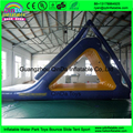 Water Games Floating Water Slide Inflatable Triangle Slide For Wark Park Sea