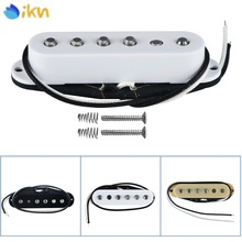 IKN 1PCS Vintage Alnico 5 V Guitar Single Coil Pickup Neck Middle Bridge Staggered Pole Piece_220x220 alnico single coil reviews online shopping alnico single coil  at edmiracle.co