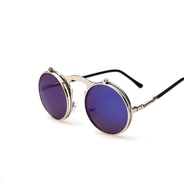 Steampunk Flip-Up Sunglasses