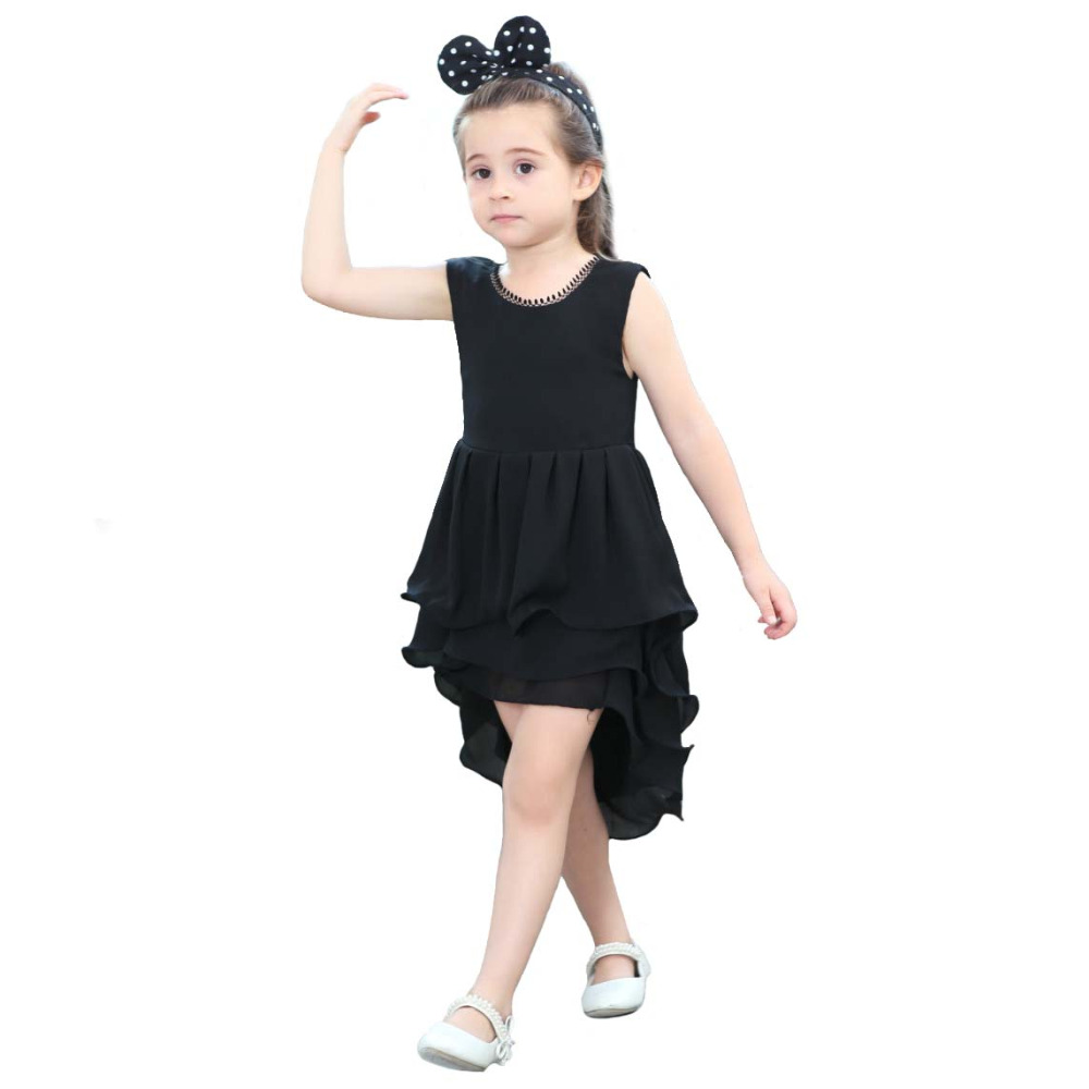 Little Girls Black Dress