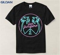 Latest Design San Junipero Man Crewneck Colors Summer Style T Shirt Men Cotton Tshirt Top Tee