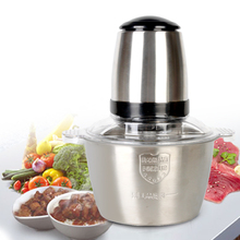 2L Electric Stainless Steel Meat Grinder Household Mini Mincing Machine Meat Chopper Kitchen Tools цена в Москве и Питере