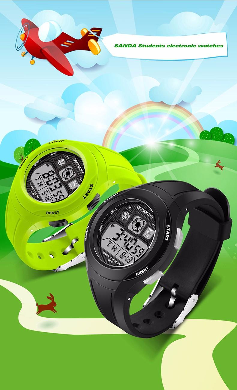 Children's Reloj Digital LED 4