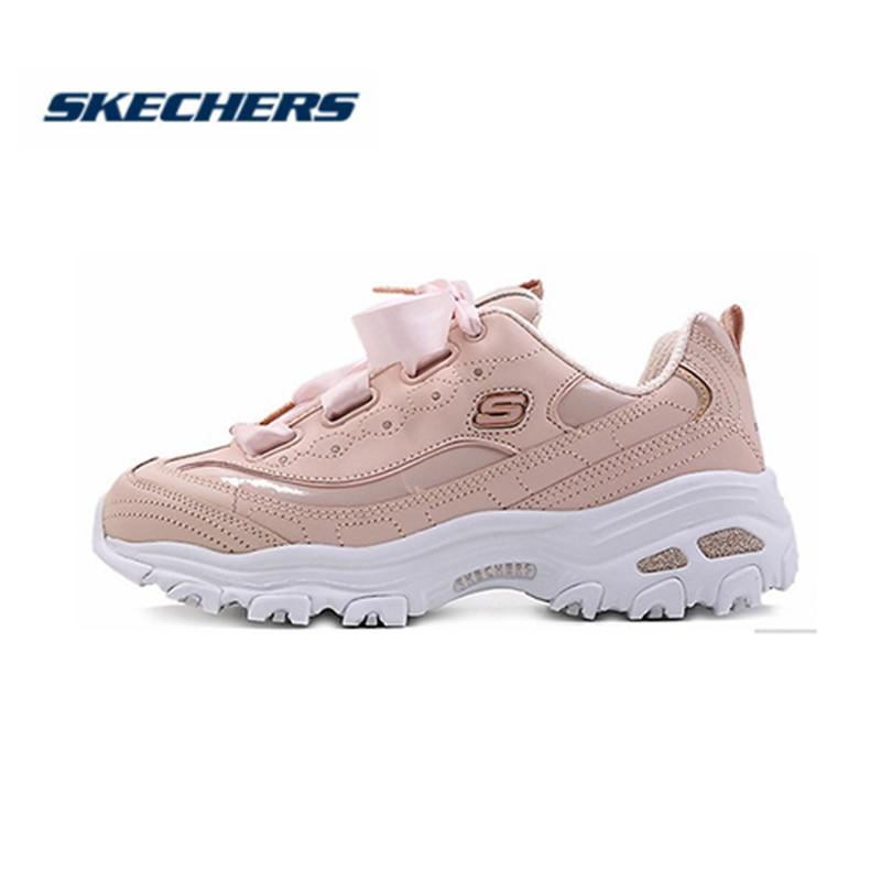 fondo de pantalla medio Demon Play  Skechers D'lites Shoes Women Fashion Platform Pink Low Cut Shoes Woman  Ladies Trainers chaussure femme Chunky Heels 11976 LTPK|Women's Flats| -  AliExpress