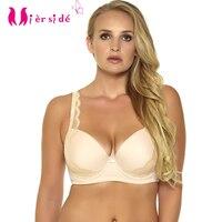 7c5e6790bf3 Mierside 956 Plus size Bra push up Bra Underwire Everyday Underwear for  Women Sexy Lingerie Lace 32-46 D DD DDD E F G