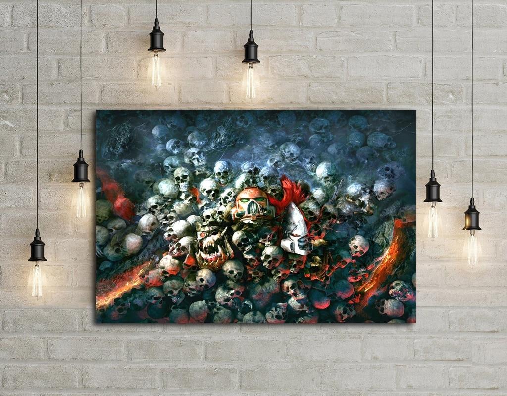Warhammer 40K Dawn of War Game Art Silk Fabric Poster Wall Decor 12x18 24x36Inch