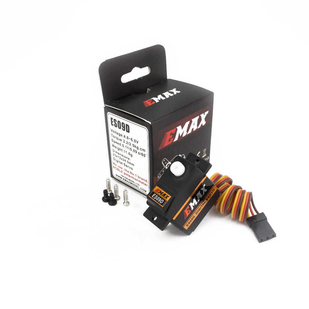 Image 4 - Official EMAX Servo EMAX ES09D Servo (Dual Bearing) Specific Swash Servo For 450 Helicopters-in Parts & Accessories from Toys & Hobbies