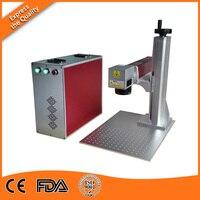 50W Optical Fiber Laser Marking Machine For Metal Fiber Laser Marking With Portable Design