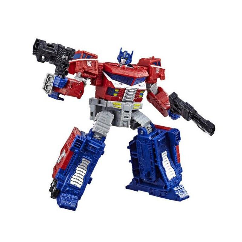 18cm transformateurs siège guerre pour Cybertron trilogie Optimus Prime onde de choc PVC figurine générations Collection modèle jouets - 4